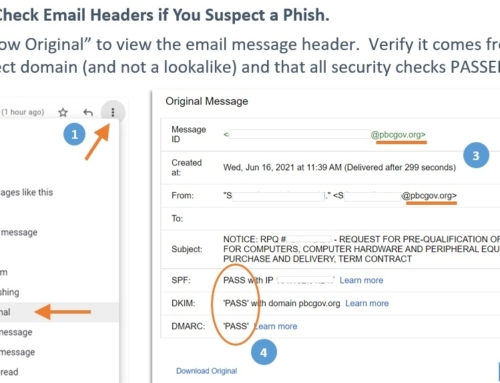 How to Spot a Phishing Email Using Headers