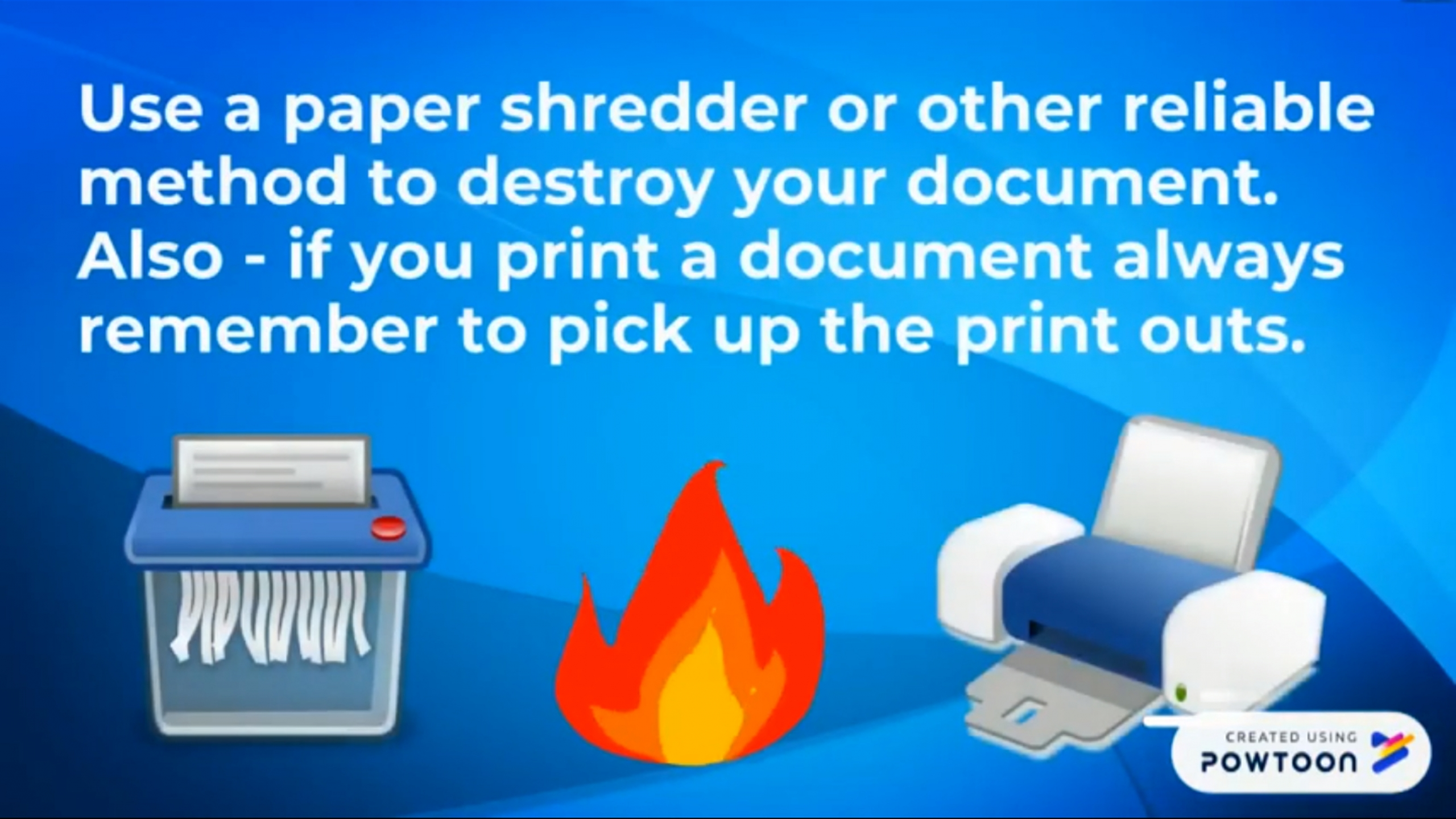 Documents Disposal