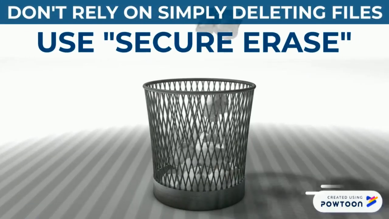 Erase Data Safely